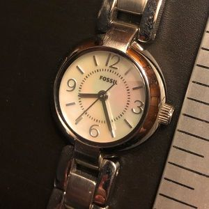 Fossil women's watch - slight wear and tear